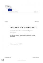 declaración IBE parlamento europeo